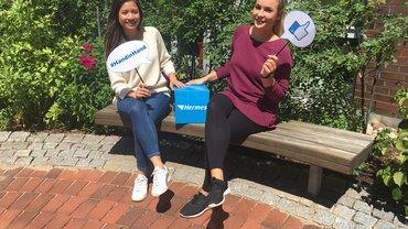 Mandy und Linh Jugend- und Auszubildendenvertretung Hermes