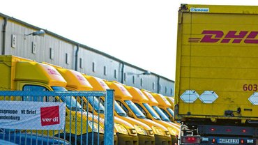 Tarifverhandlungen bei DHL Delivery