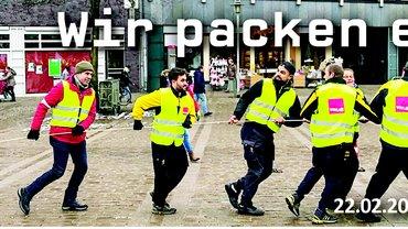 Postler-Streik in Neumünster