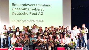 Unsere Vertreter/innen und Ersatzvertreter/innen im Gesamtbetriebsrat Deutsche Post AG
