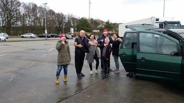 Weihnachtsaktion für LKW-Fahrer