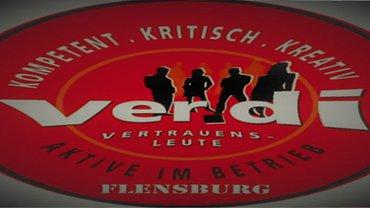 Logo der ver.di-Vertrauensleute in Schleswig